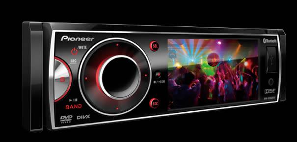 DVD Automotivo Pioneer DVH-8580AVBT