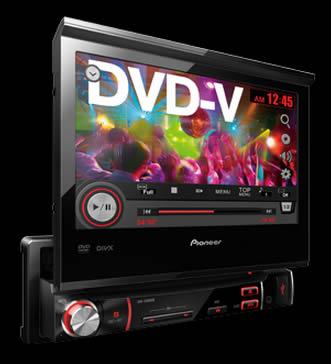 DVD Automotivo Pioneer AVH-3580DVD