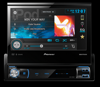 DVD automotivo Pioneer AVH-X7580BT